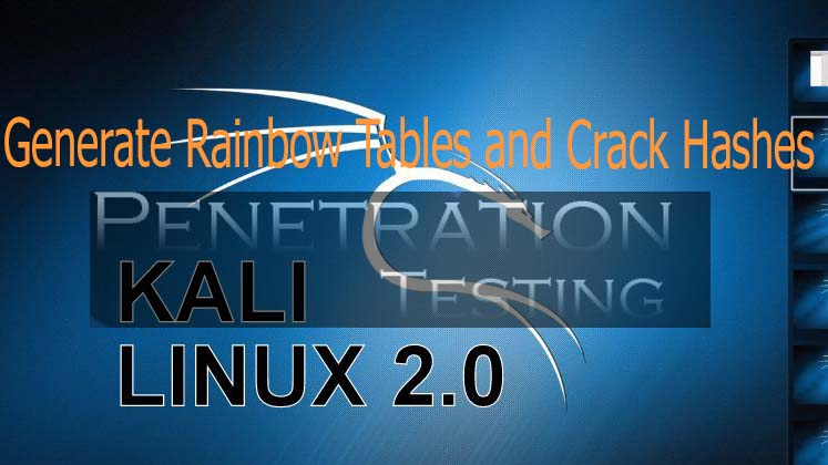 Generate Rainbow Tables and Crack Hashes in Kali Linux | CyberPratibha