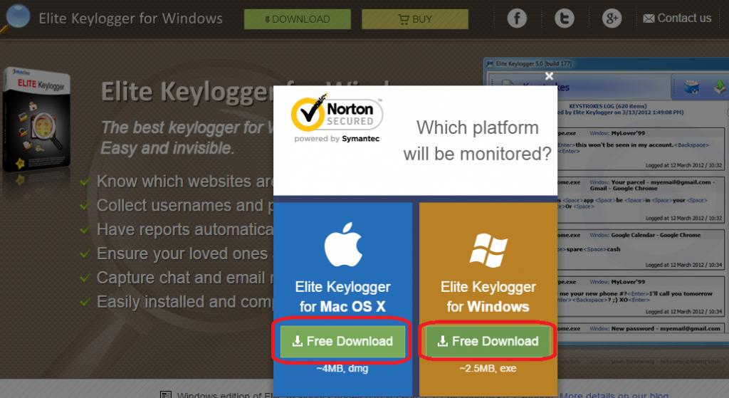 download elite keylogger