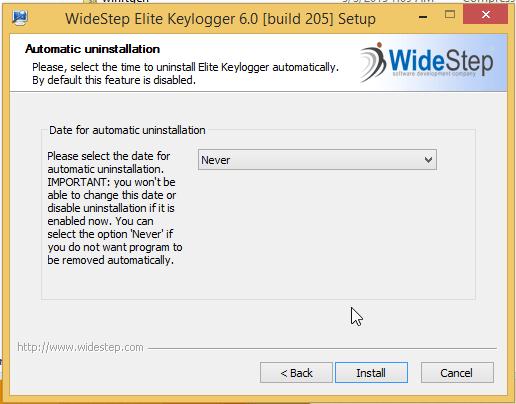 installing elite keylogger3