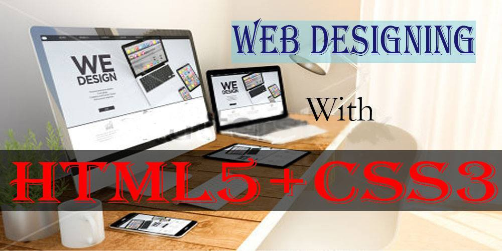 html and css3 web designing course in bijnor