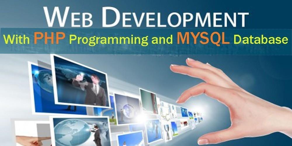 php and mysql web development slider