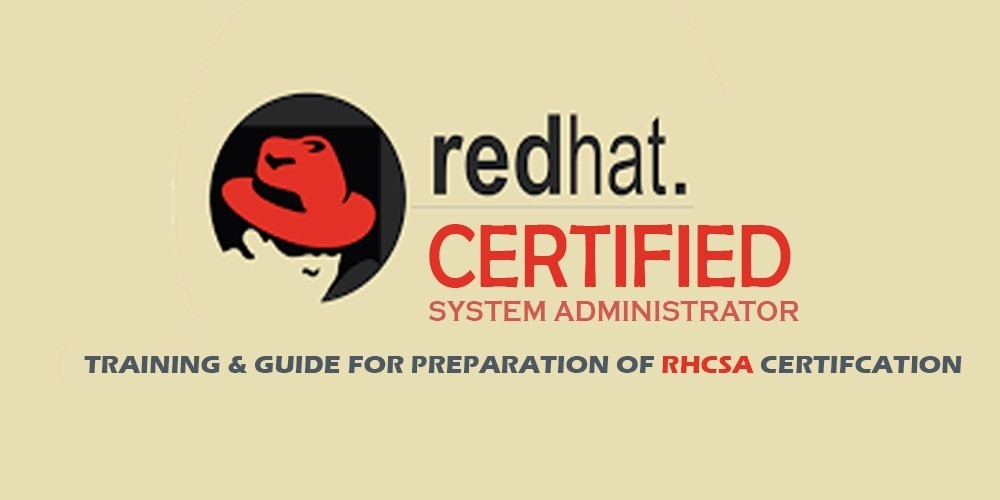 RHCSA Redhat Certified System Administrator CentOS 7