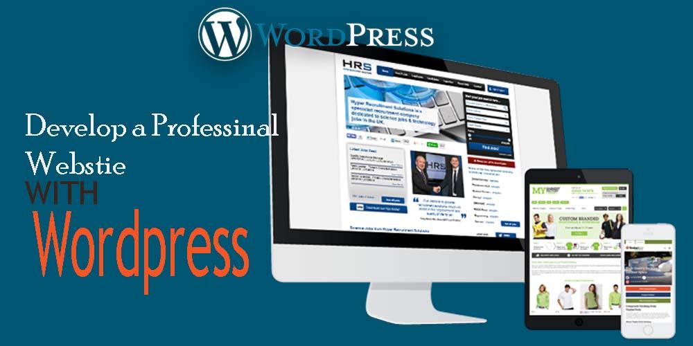 wordpress website development course slider