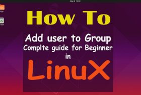 How to Add User to Group in Linux Ubuntu 19.04