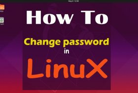 How to change password in linux terminal
