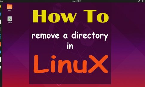 How to Remove Directory in Linux by command and GUI
