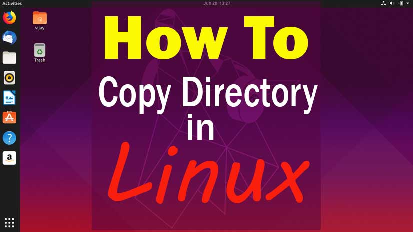 How-to-copy-a-directory-in-Linux-by-command