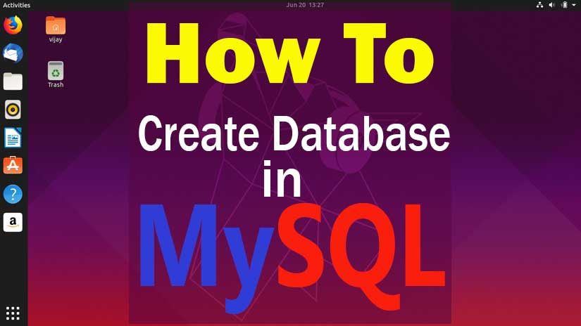 how-to-create-database-in-MySQL-linux