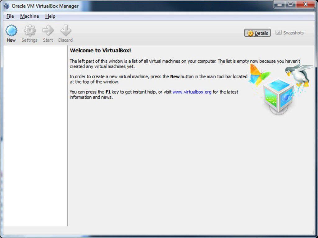 Installation Virtual Box on Window 8