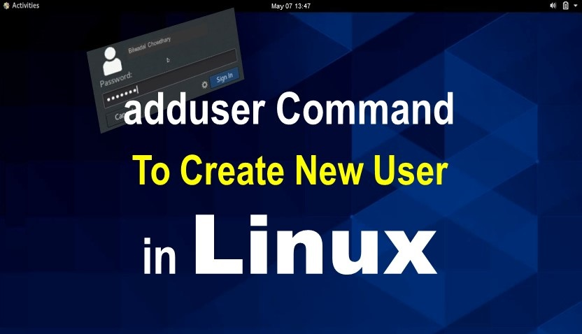 adduser Command in Linux