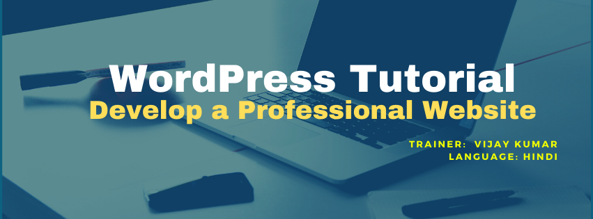 Wordpress tutorial for beginner - develop a professional website