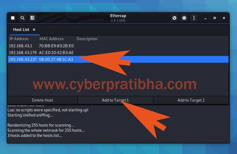 Arp poisoning attack with ettercap tutorial in Kali Linux for beginners